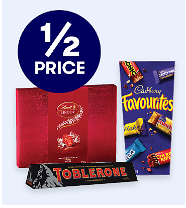 1/2 price selected Chocolate