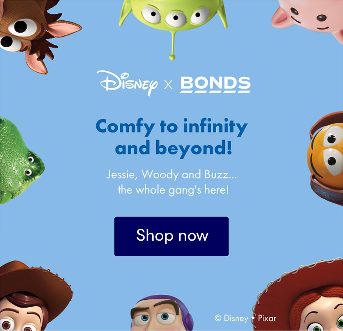 Disney x Bonds babywear
