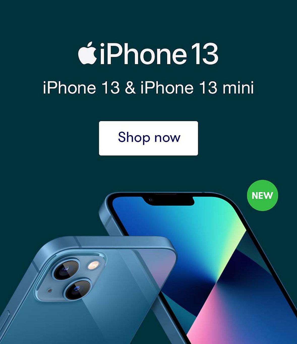 Shop iPhone 13 & iPhone 13 mini now