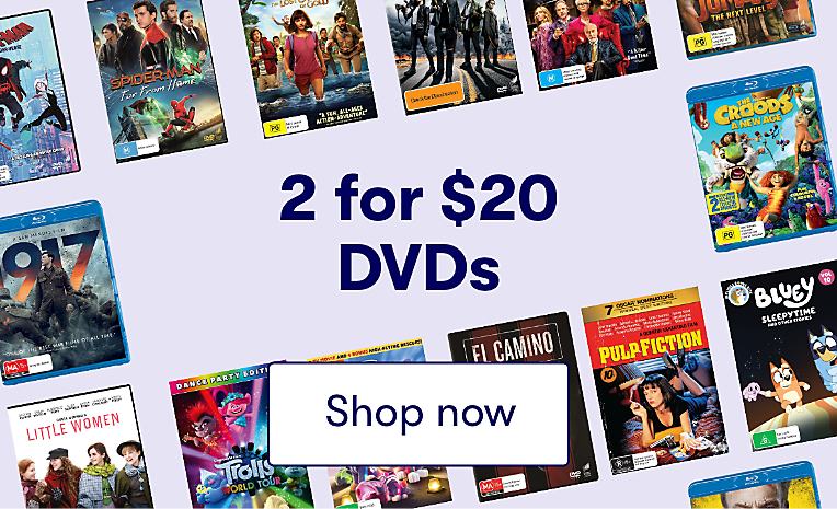 2 for $20 DVDs