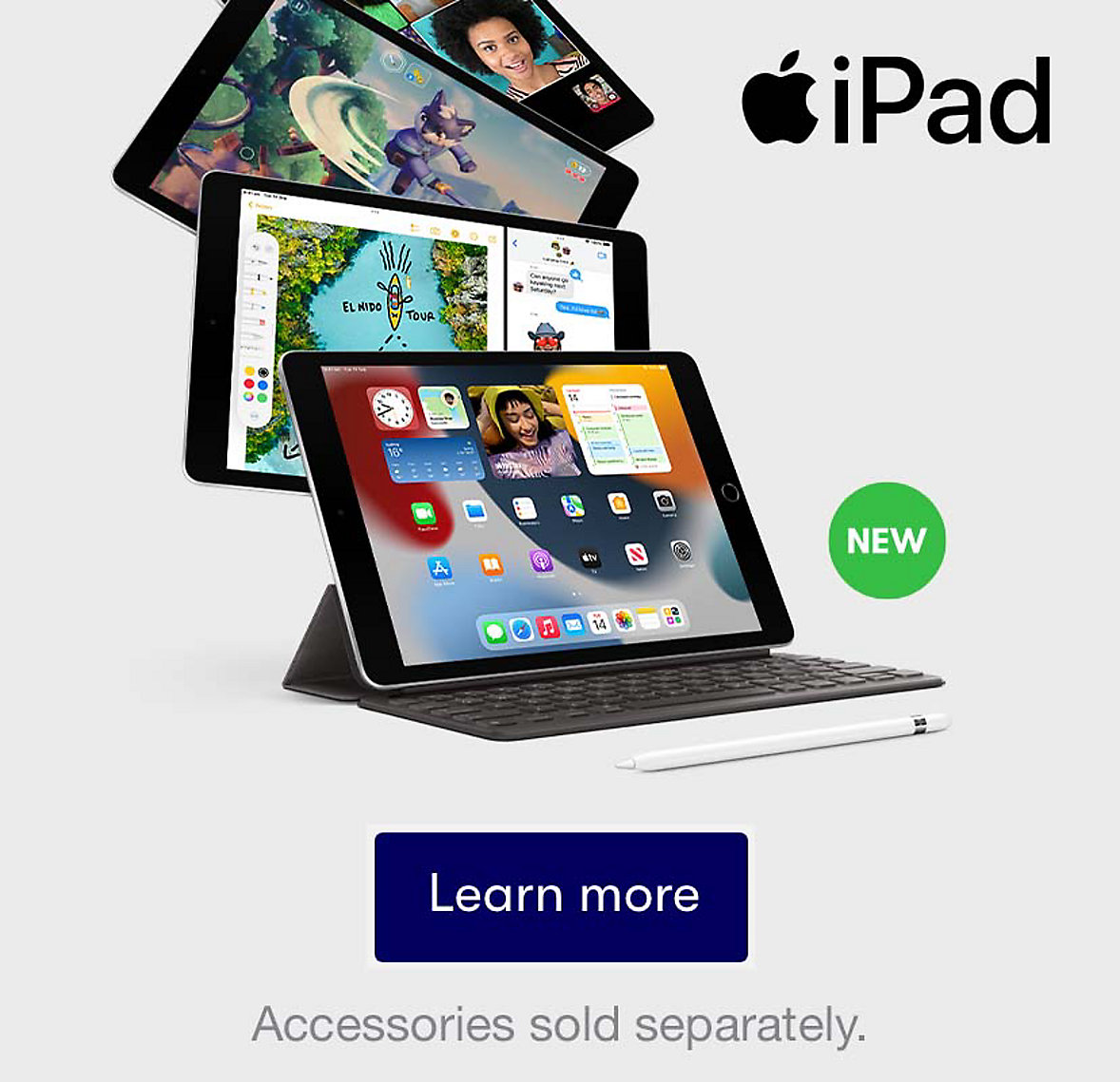 Learn more about iPad