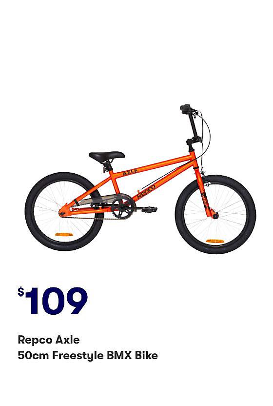 Shop Repco Axle 50cm Freestyle BMX Bike