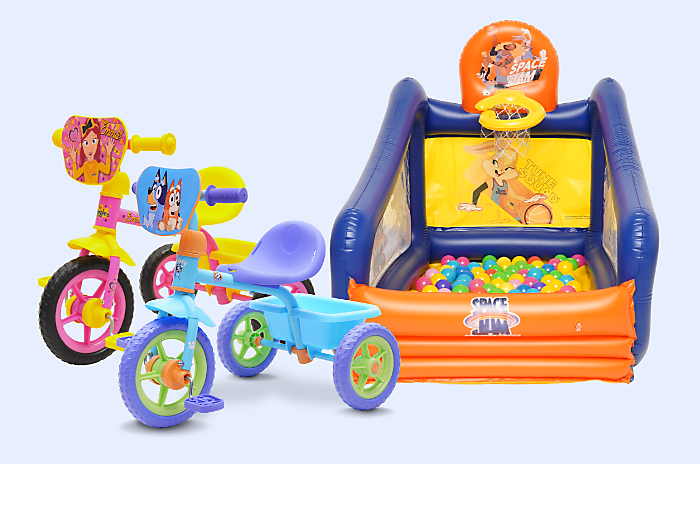Awesome Deals on Indoor and Outdoor Play