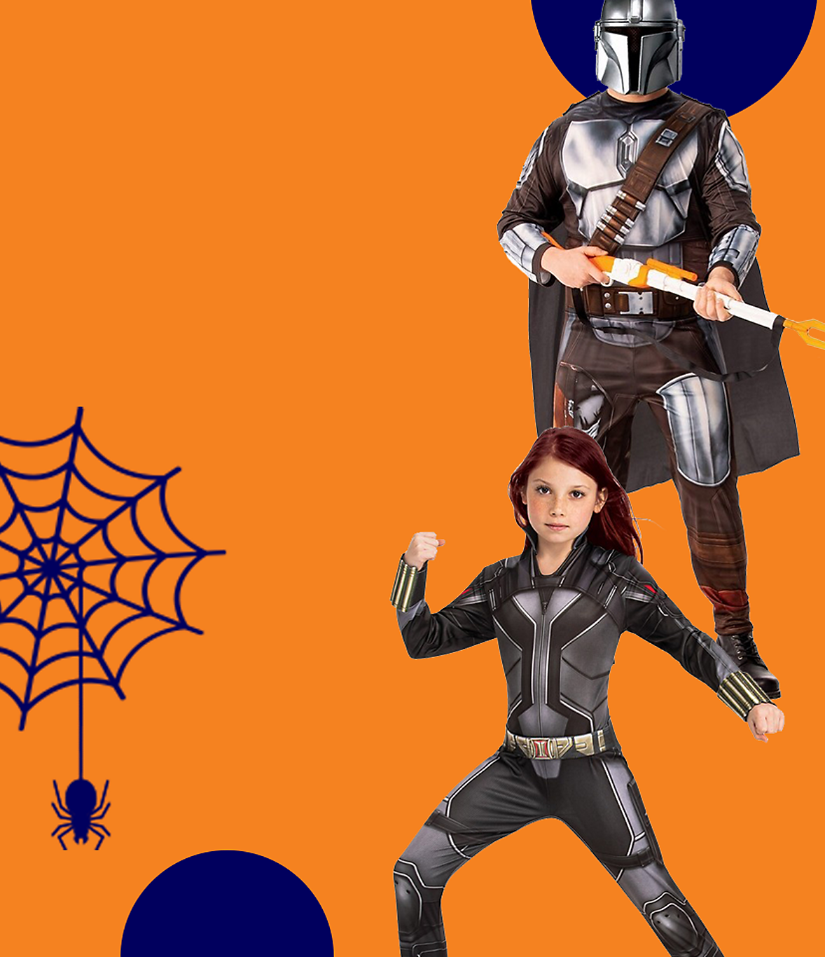 Get Halloween and character ready with our range of costumes