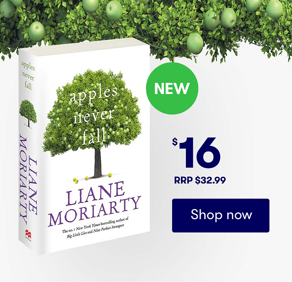 NEW Apples Never Fall by Liane Moriarty now available Shop now