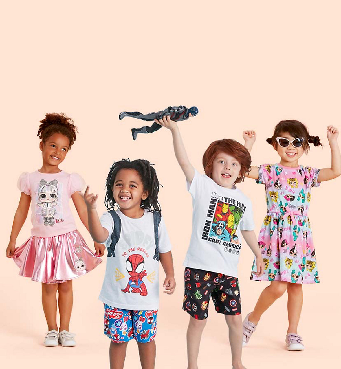 kids character clothes