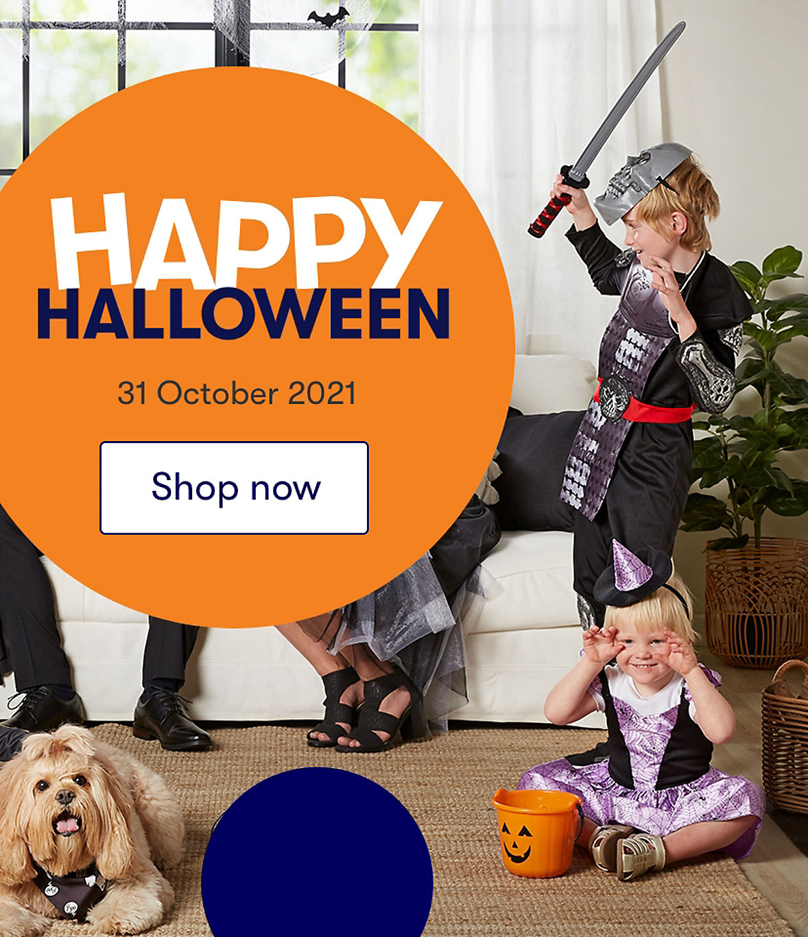 Happy Halloween at Home