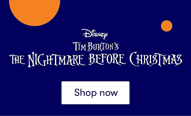 Nightmare Before Christmas shop now