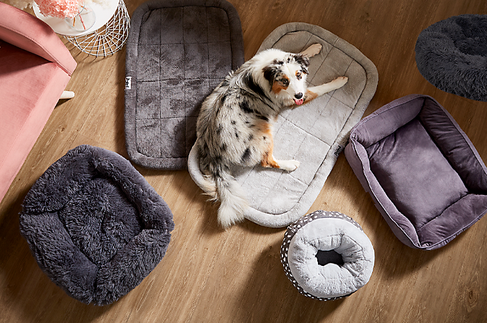 Keep your furry friends warm with our range of dog beds.