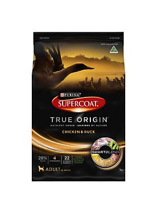 Purina Supercoat True Origin dog food