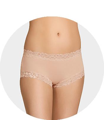 Women's Nude Lace Briefs
