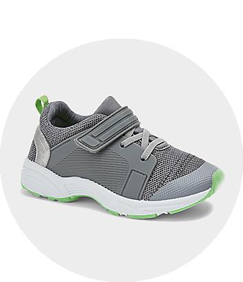 Kids Grey Sport Shoes