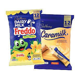 Cadbury Mars Nestle bags