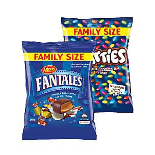 Allens Nestle family bags