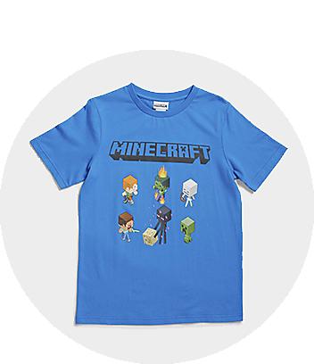 Shop Minecraft Boys Clothing