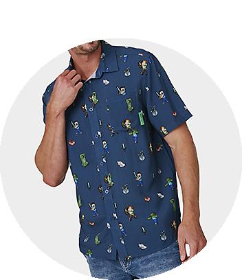 Shop Minecraft Mens Clothing