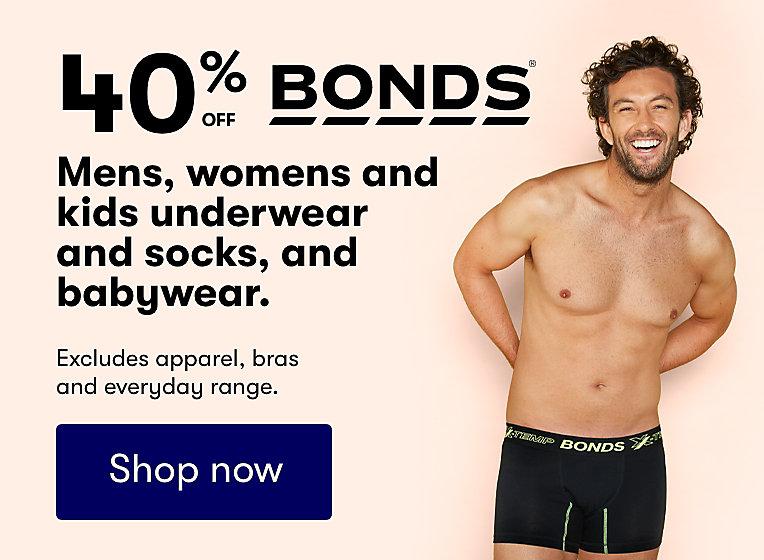 40% off bonds offer