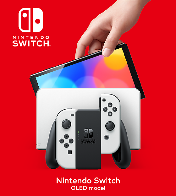 Nintendo Switch OLED out now