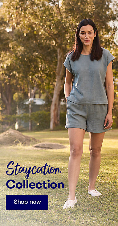 Staycation Women's Collection