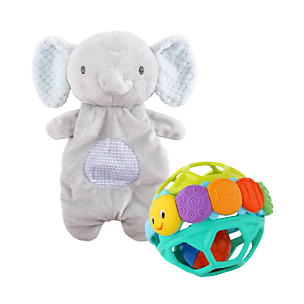 Oball, Ingenuity and Bright Starts Baby Toys