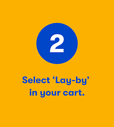 Online Lay-by step 2