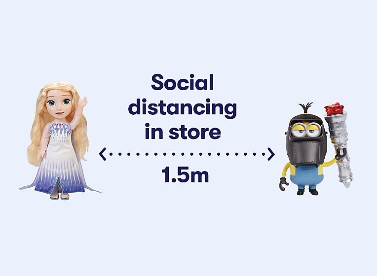 Social Distancing in store