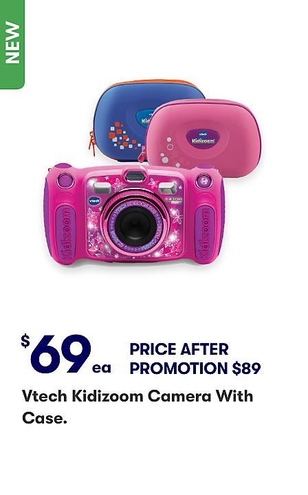 Save $20 Vtech Kidizoom Camera with Case