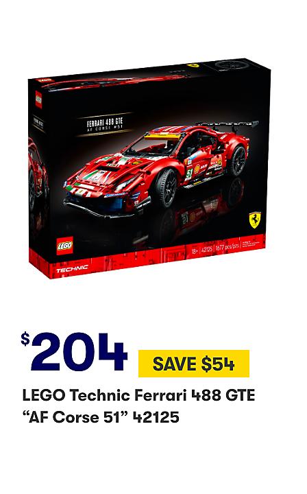 Save $54 on LEGO Technic Ferrari