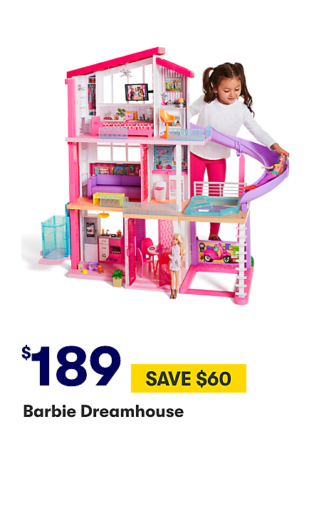 Save $60 on Barbie Dreamhouse