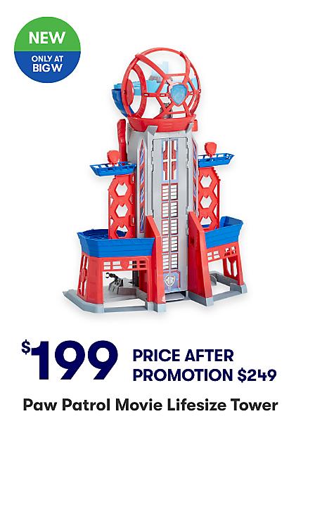 Get $50 off Paw Patrol Movie Lifesize Tower