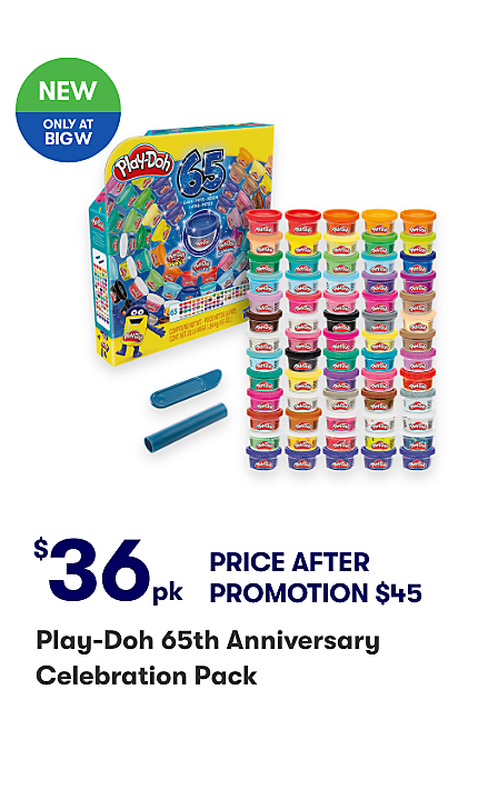 NEW Play-Doh 65th Anniversary Celebration Pack