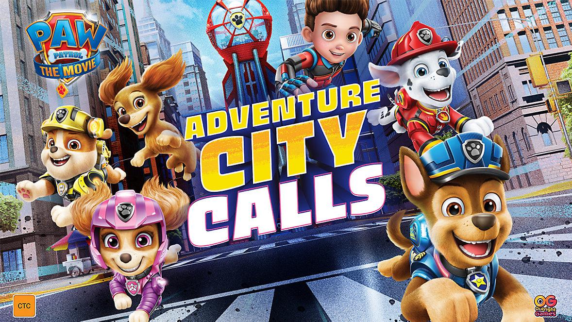Paw Patrol Adventure City Calls