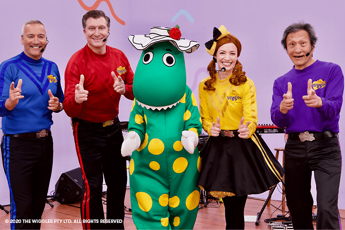 Wiggles Wiggly World of Dance