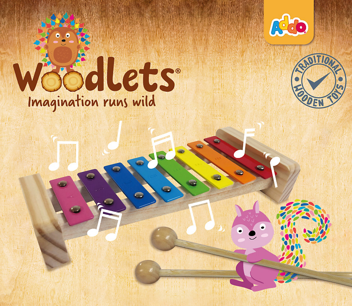 Let your imagination run wild with Addo Woodlets at Big W