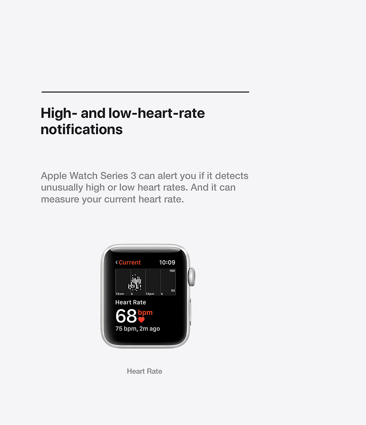 Apple Watch Heart Health Series 3