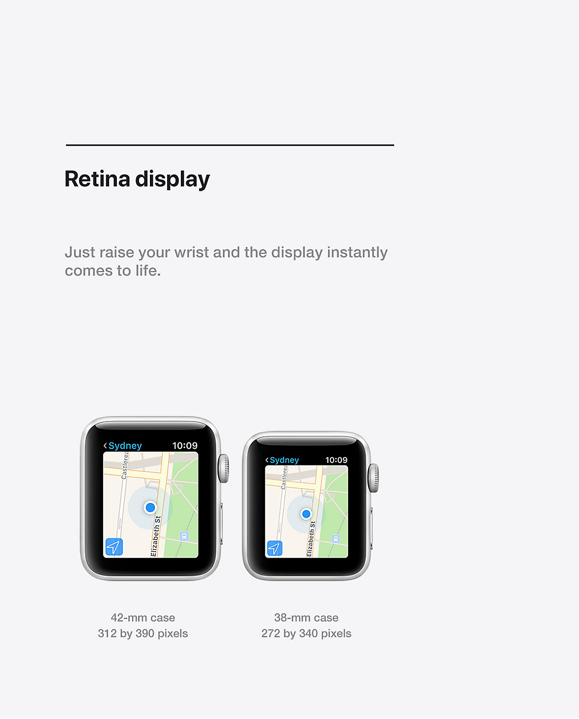 Apple Watch Retina Display