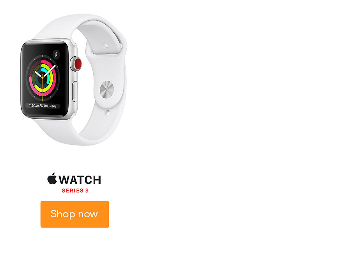 Apple Watch Series 3 Shop Now