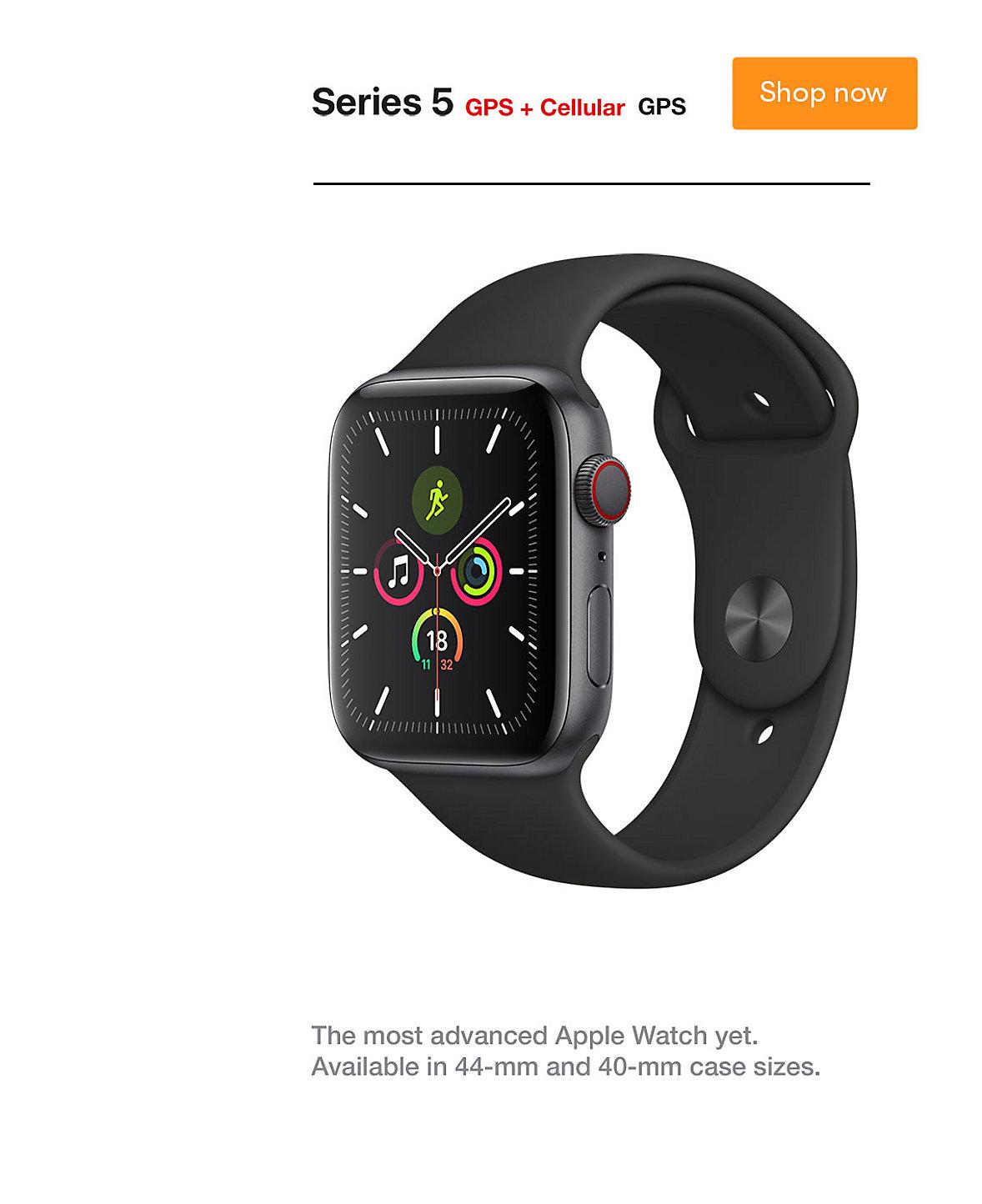 Apple Watch Series 5 GPS Cellular Shop Now