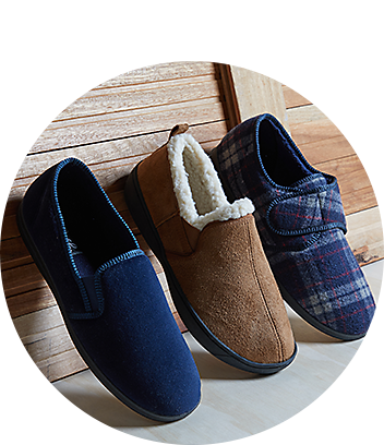 grosby mens slippers
