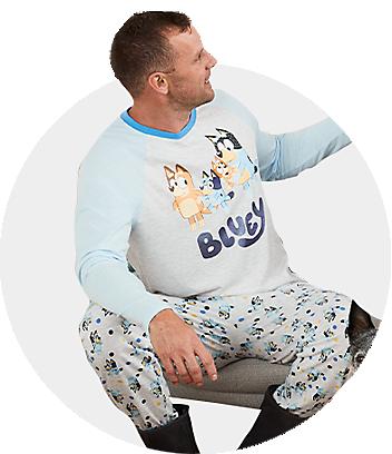 Mens bluey pyjamas