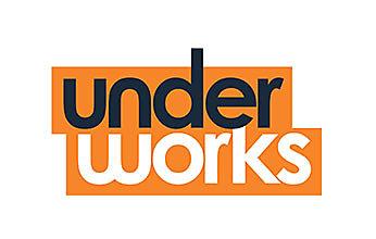 under works brand logo