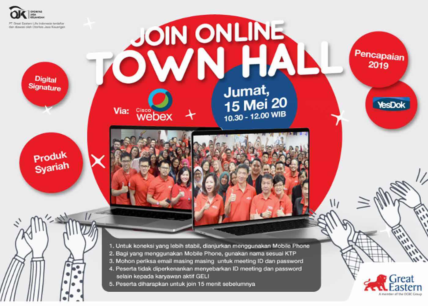 GELI and GEGI host first-ever Virutal townhalls