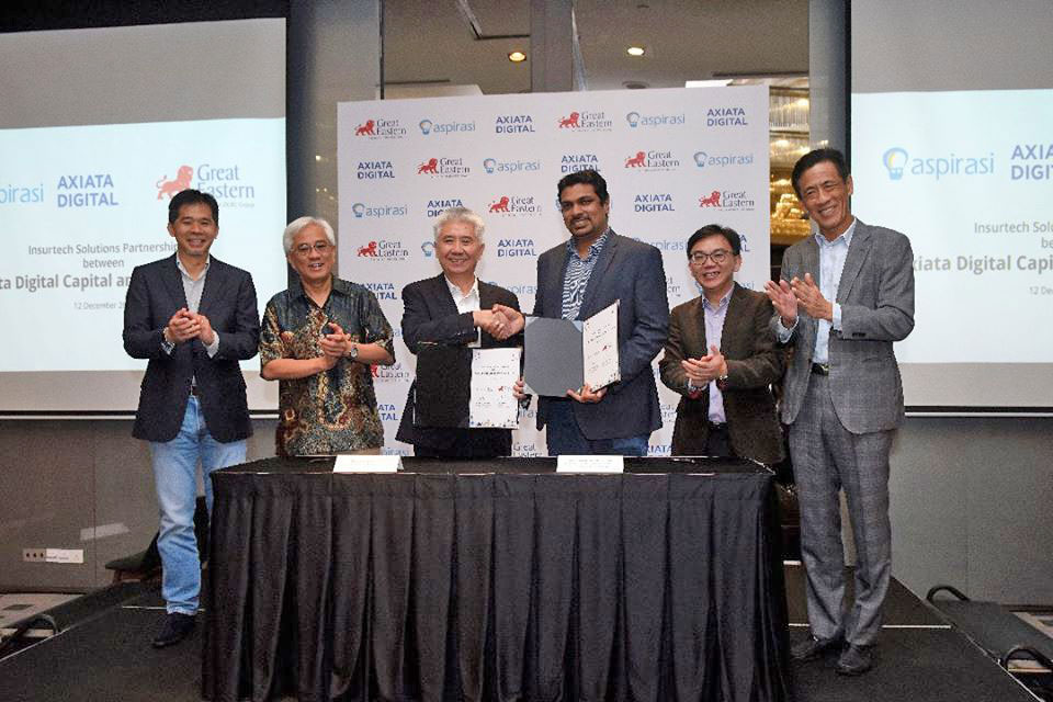 Great Eastern inks regional strategic partnership with Axiata Digital Capital