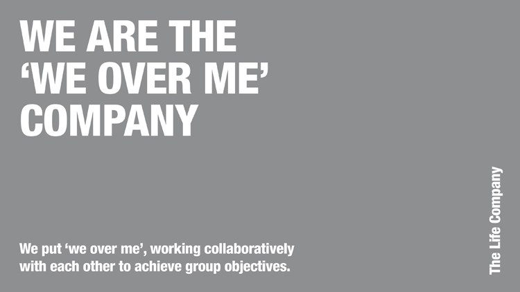The Three I's of the Life Company