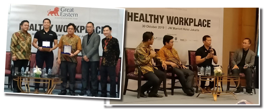 "GELI hosts ""Healthy Workplace"" talk"