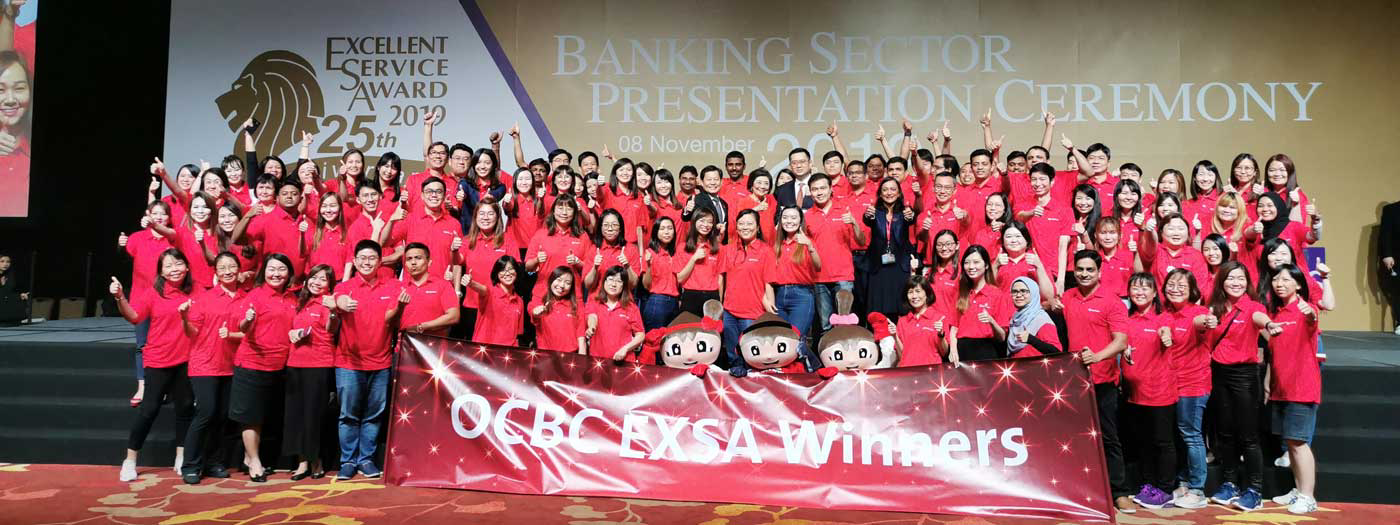 Congratulations to 2019 Excellent Service Award (EXSA) Winners