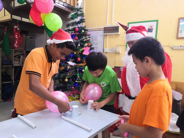 Bringing Christmas Cheer to the Underprivileged