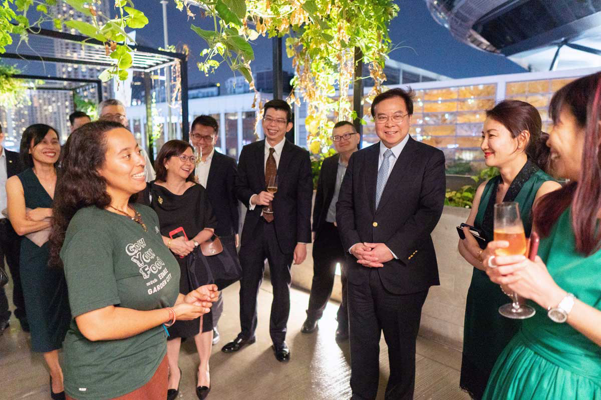 An Eco-friendly Dinner for OCBC clients