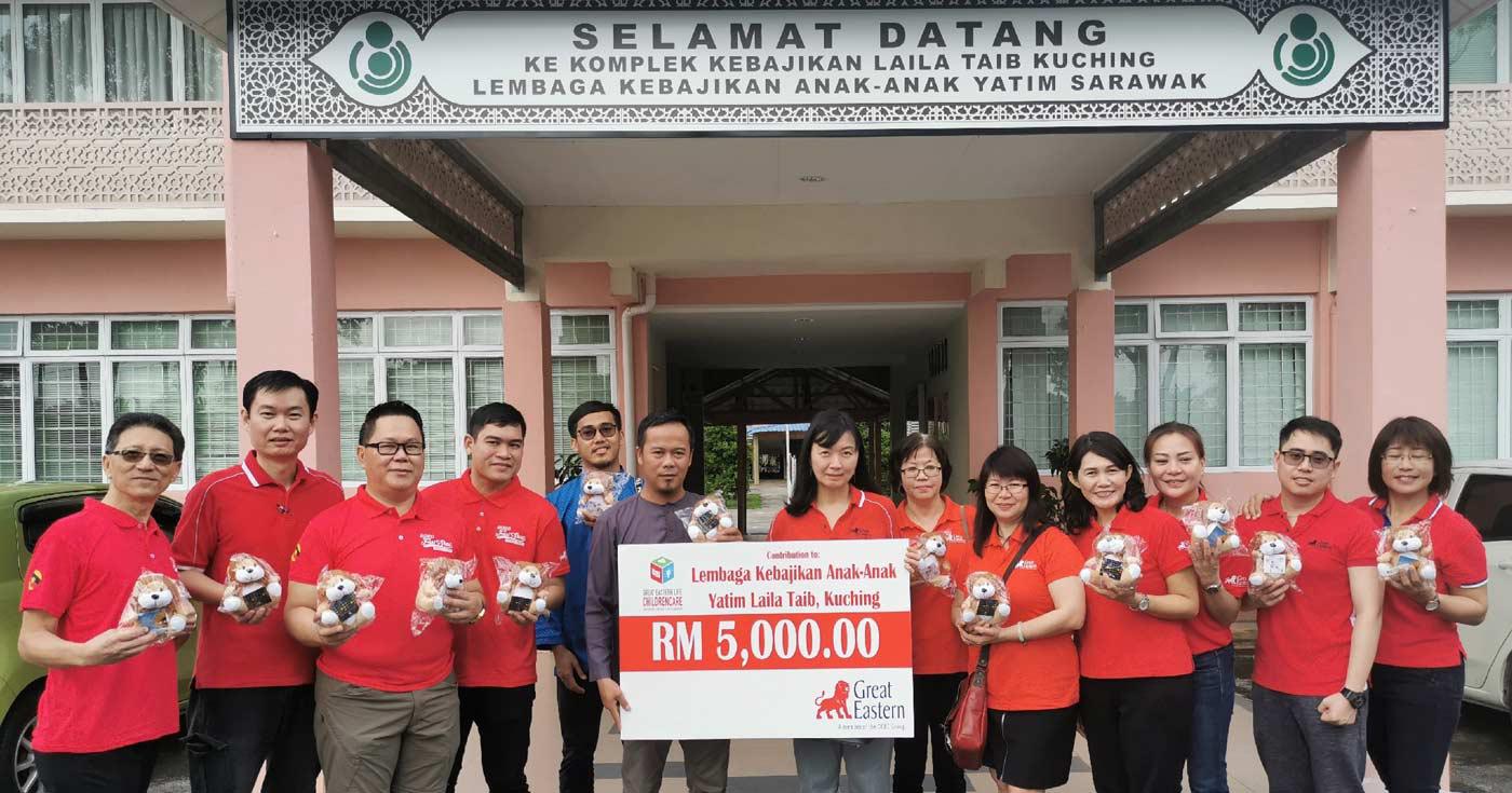 ChildrenCare Kuching and Miri Branch Donation