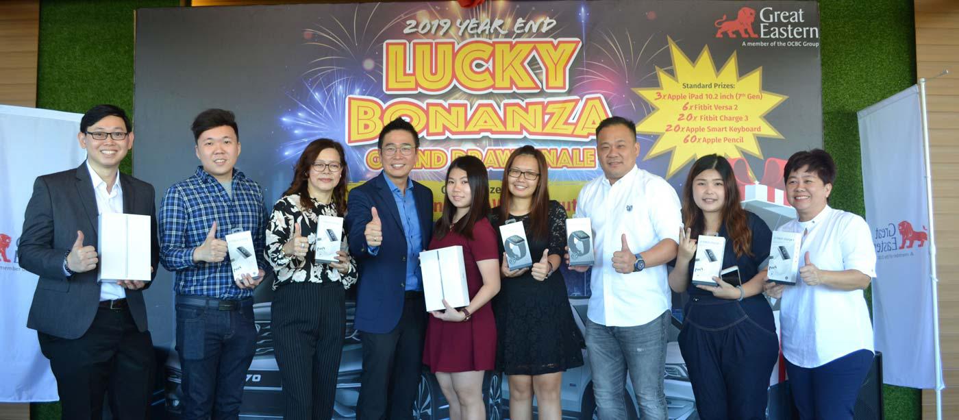 2019 Year End Lucky Bonanza